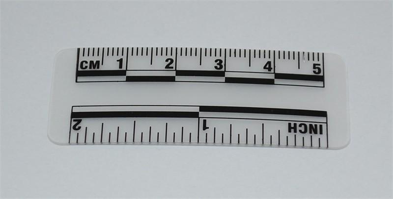 Photo Evidence Scale Transparent 50mm 2 Quot Crime Scene