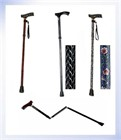 Homecraft Coloured Folding Walking Sticks